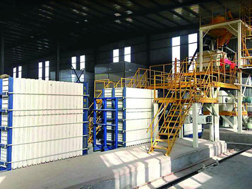 TYF-01 Construction Wall Panel Production Plant (Calcium Silicate Board Compound Wall Panel, Partition Wall)
