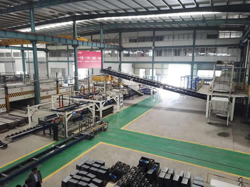 TYJ16 Construction Extruded Wall Panel Production Plant