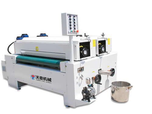 Double Roller Paint Coating Machine