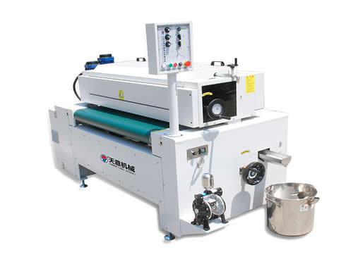 Single Roller Paint Coating Machine