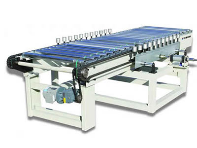 Automated Center Pushing Conveyor